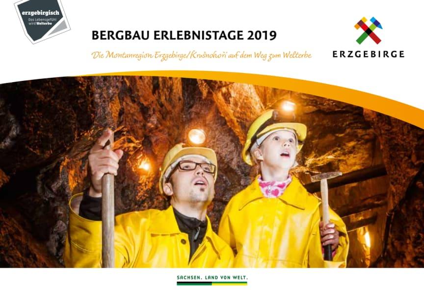 Broschüre Bergbau Erlebnistage