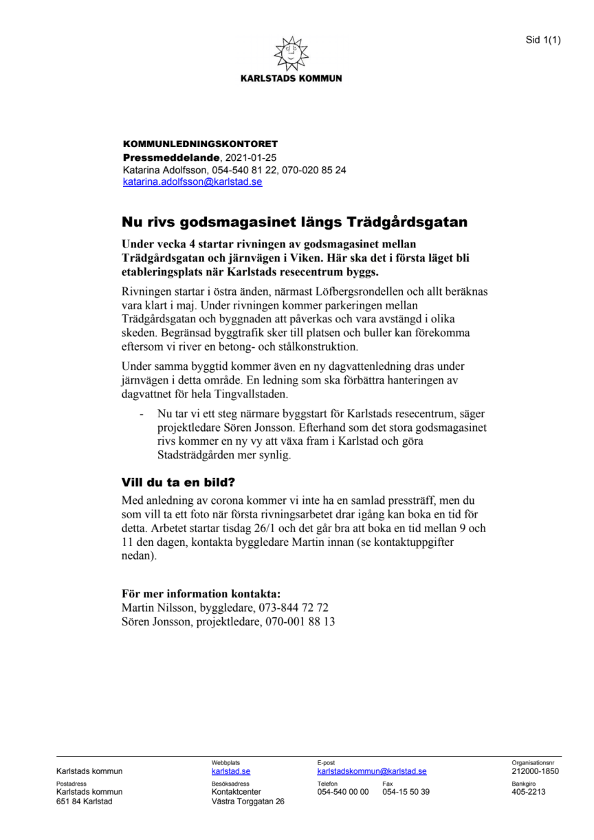 Pressmeddelande rivning godsmagasinet.pdf