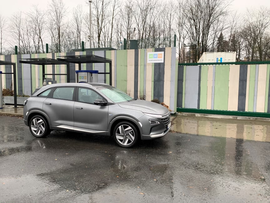 Hyundai NEXO.
