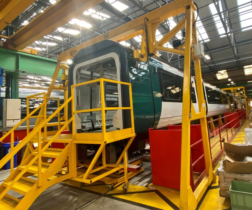 London Northwestern Railway - Class 730 - Bombardier production line