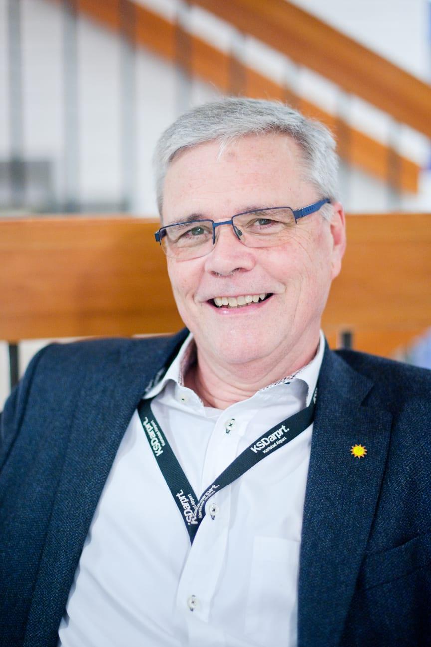 Henrik Lindblom (L), styrelseordförande Karlstads Parkerings AB