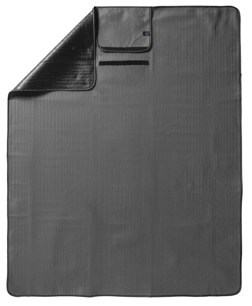 City picknickpläd 130 x 170 cm, grå