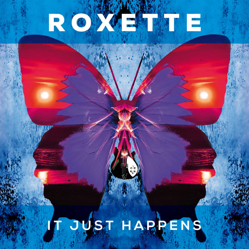 Roxette, It Just Happens - omslag