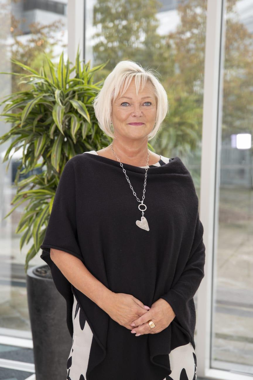Eva-Carin Lindgren, professor i idrottsvetenskap inriktning hälsopromotion