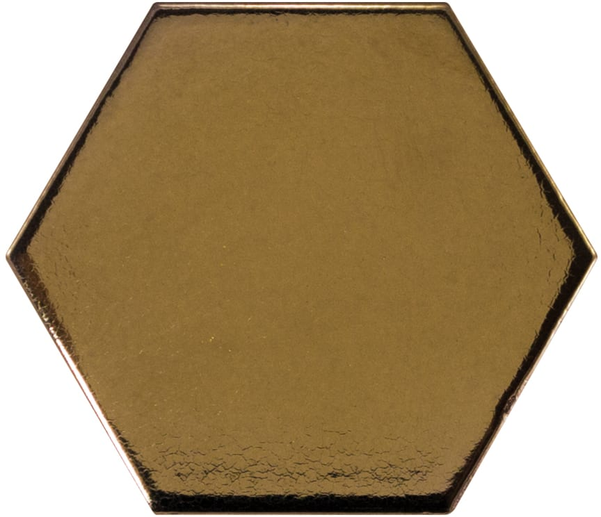 Hive Hexa Guld 12,4x10,7,  698 kr. M2