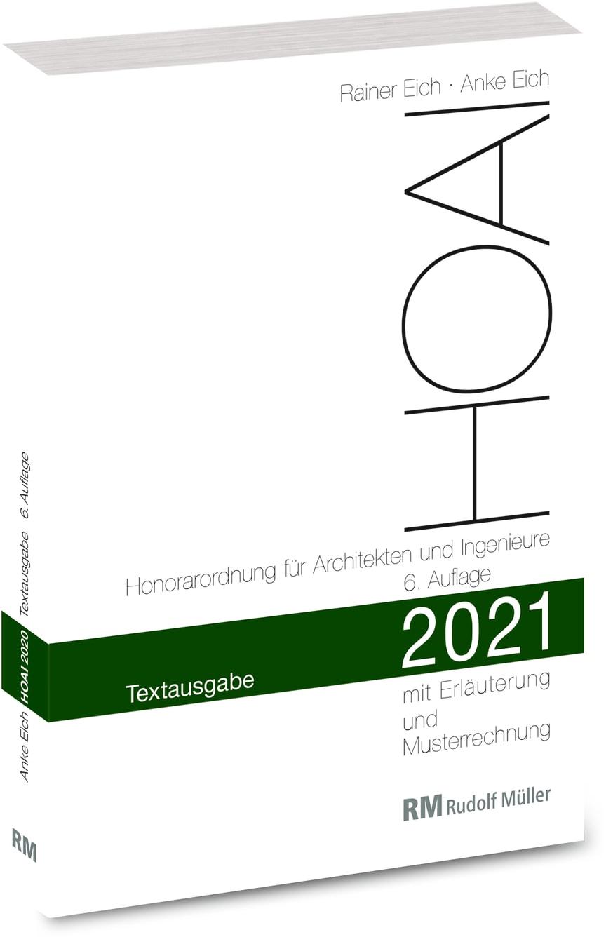 HOAI 2021 – Textausgabe (3D/tif)