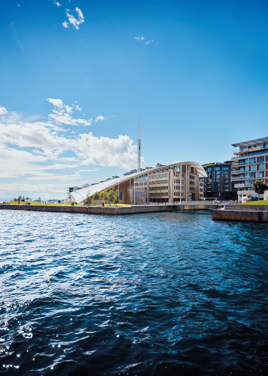 Astrup Fearnley Museum sea view