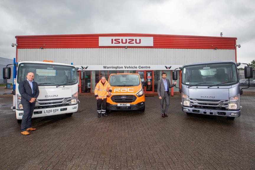 RAC and Isuzu Truck UK announce new contract