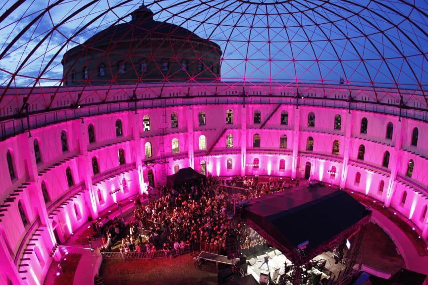 Sommerbühne und Sommertheater in der Arena am Panometer Leipzig