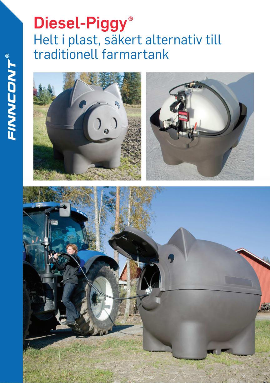 Finncont farmartank Diesel-Piggy