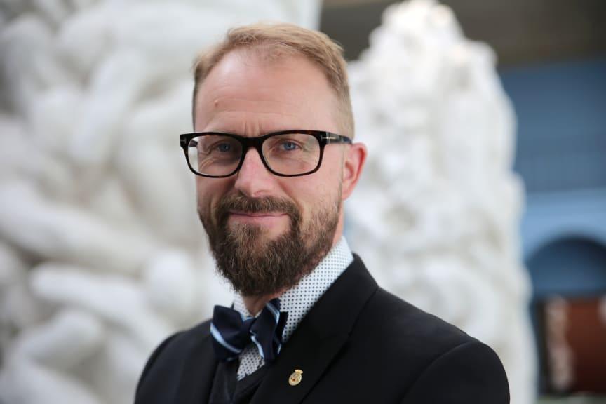 Jarle Strømodden (portrett), museumsleder Vigelandmuseet / Museum Director Vigeland Museum