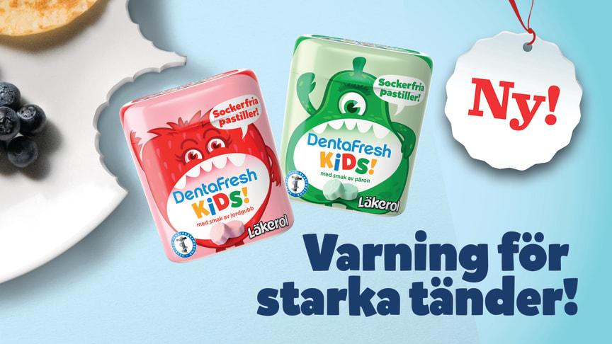 DentaFresh Kids Varning för starka tänder!