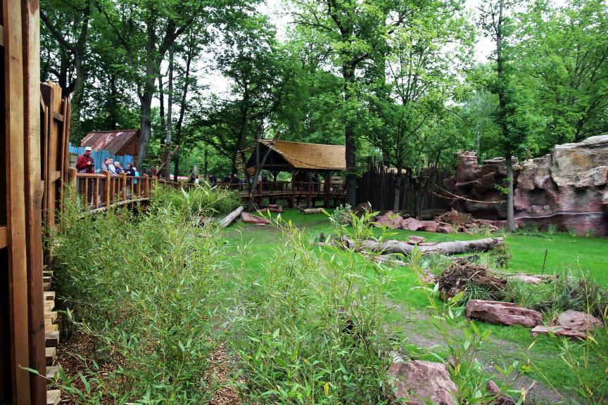 Zoo Leipzig - Blick in die südamerikanische Landschaft