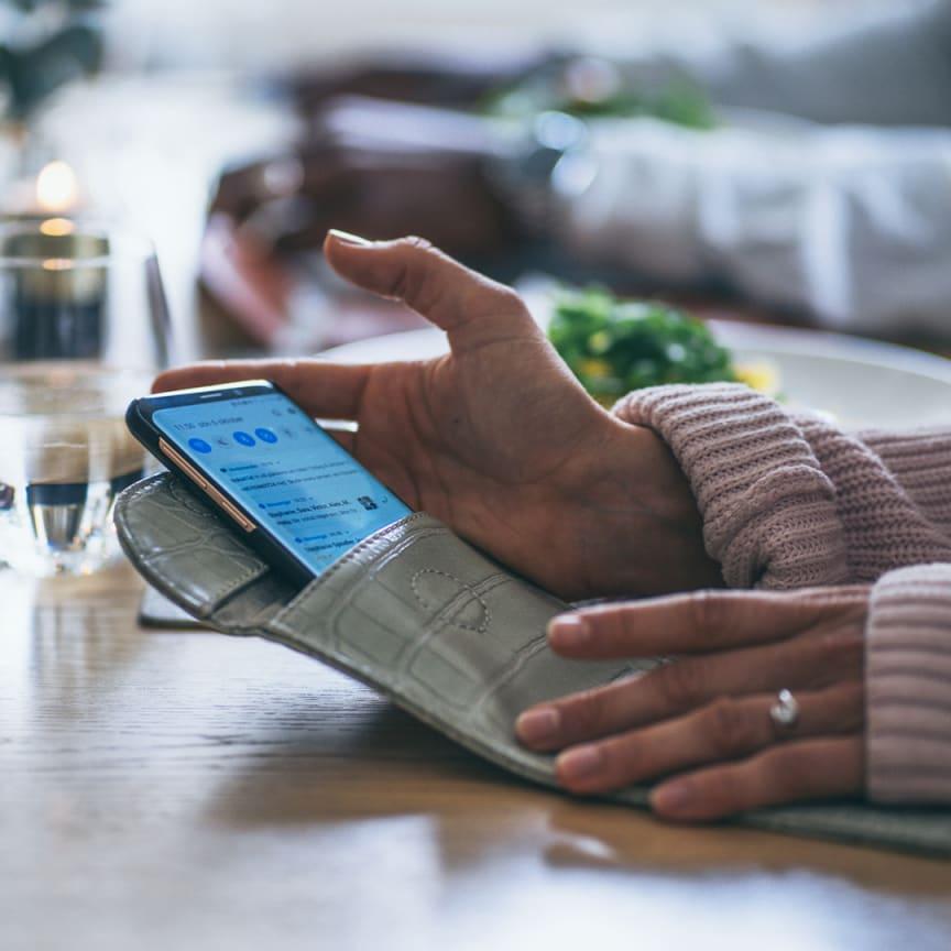 Signalblockerande mobilväska-smartasaker
