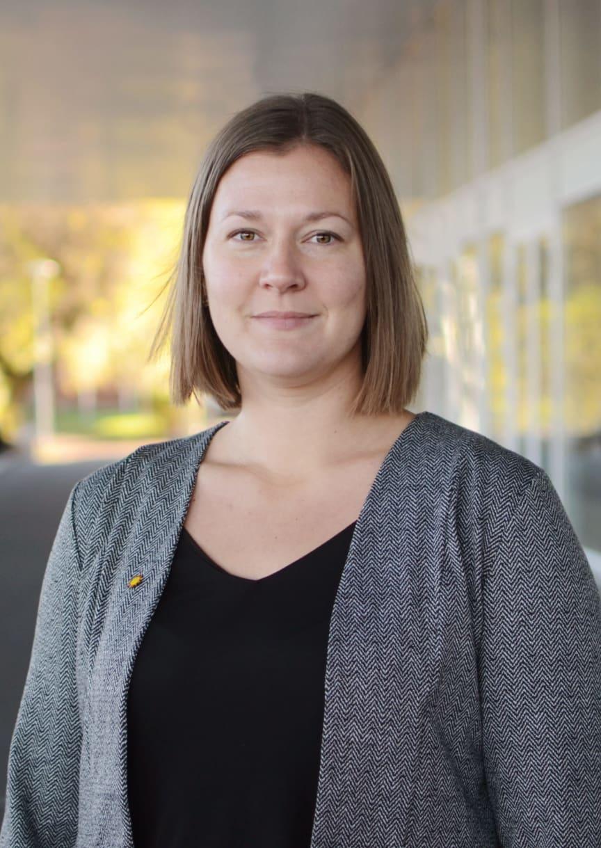 Frida Pettersson (C), kommunalråd och ordförande i tillväxtutskottet