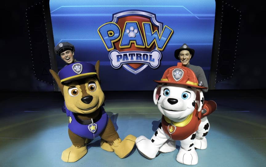 "PAW Patrol Live! - ""Räddningspatrullen"""