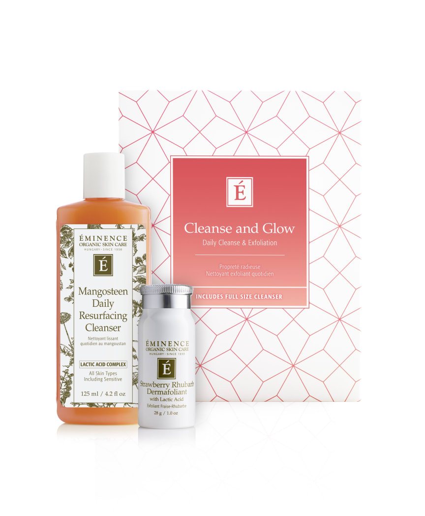 Èminence Organics Cleanse and Glow