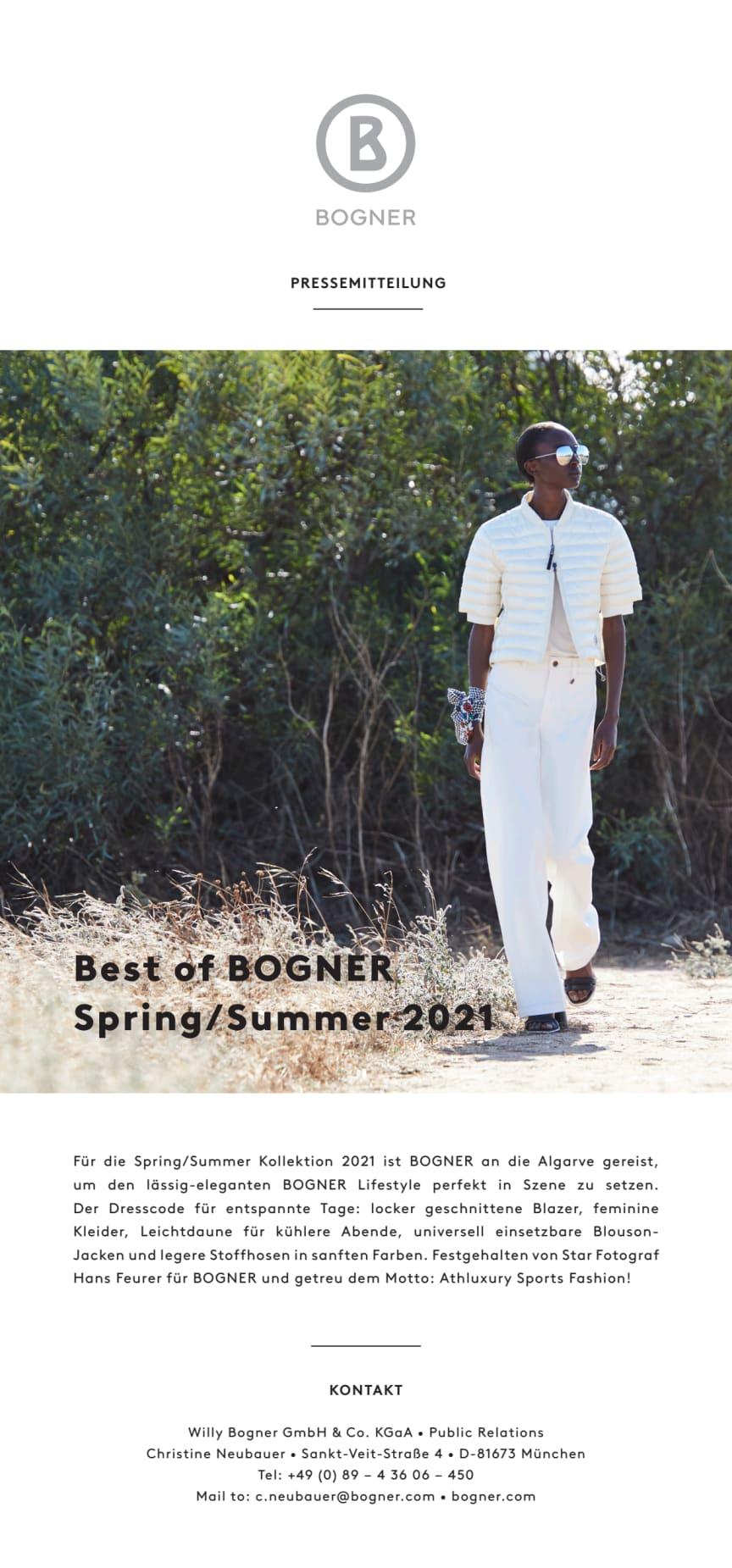 Best of BOGNER Spring/Summer 2021