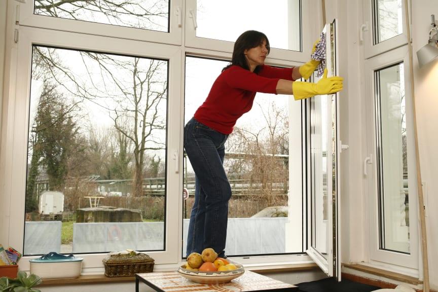 Hausputz – Gute Organisation baut Unfällen vor