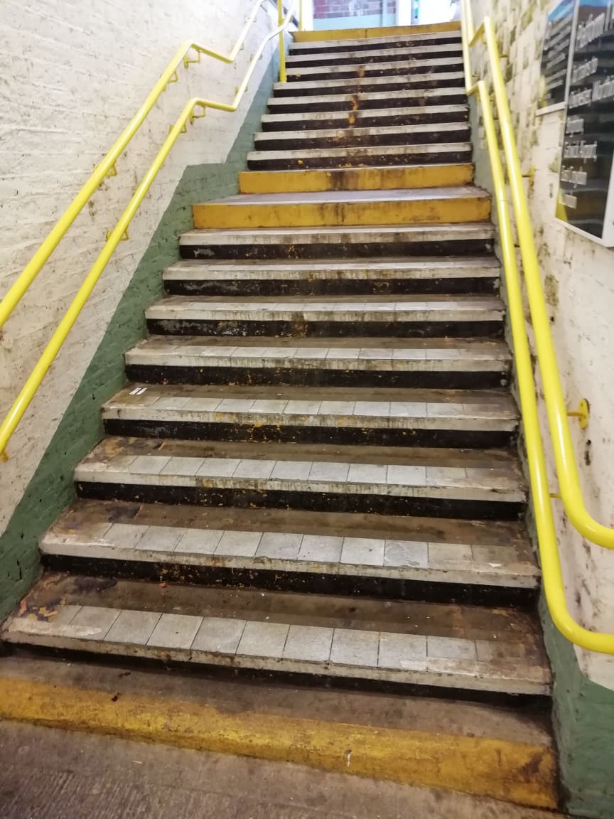Emsworth stairs before