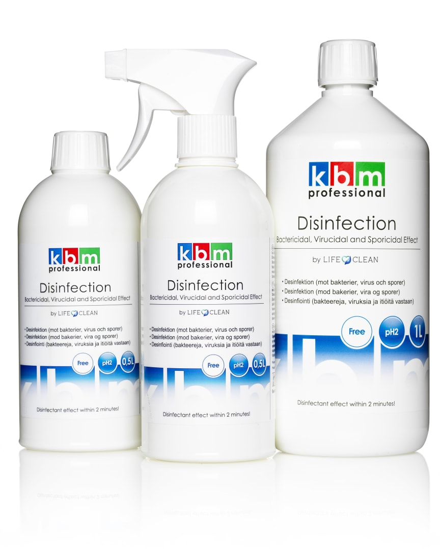 KBM Disinfection by LifeClean