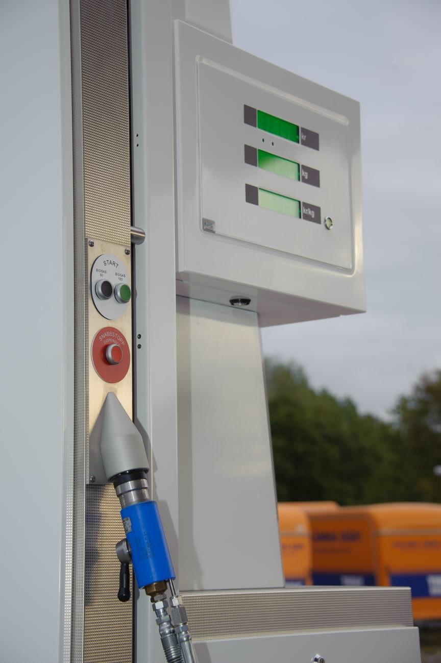 Tankställen för gas renoveras 3