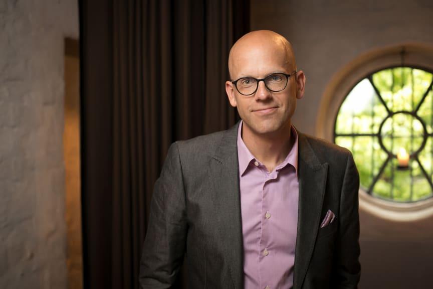 Författarfoto, Andreas Ekström
