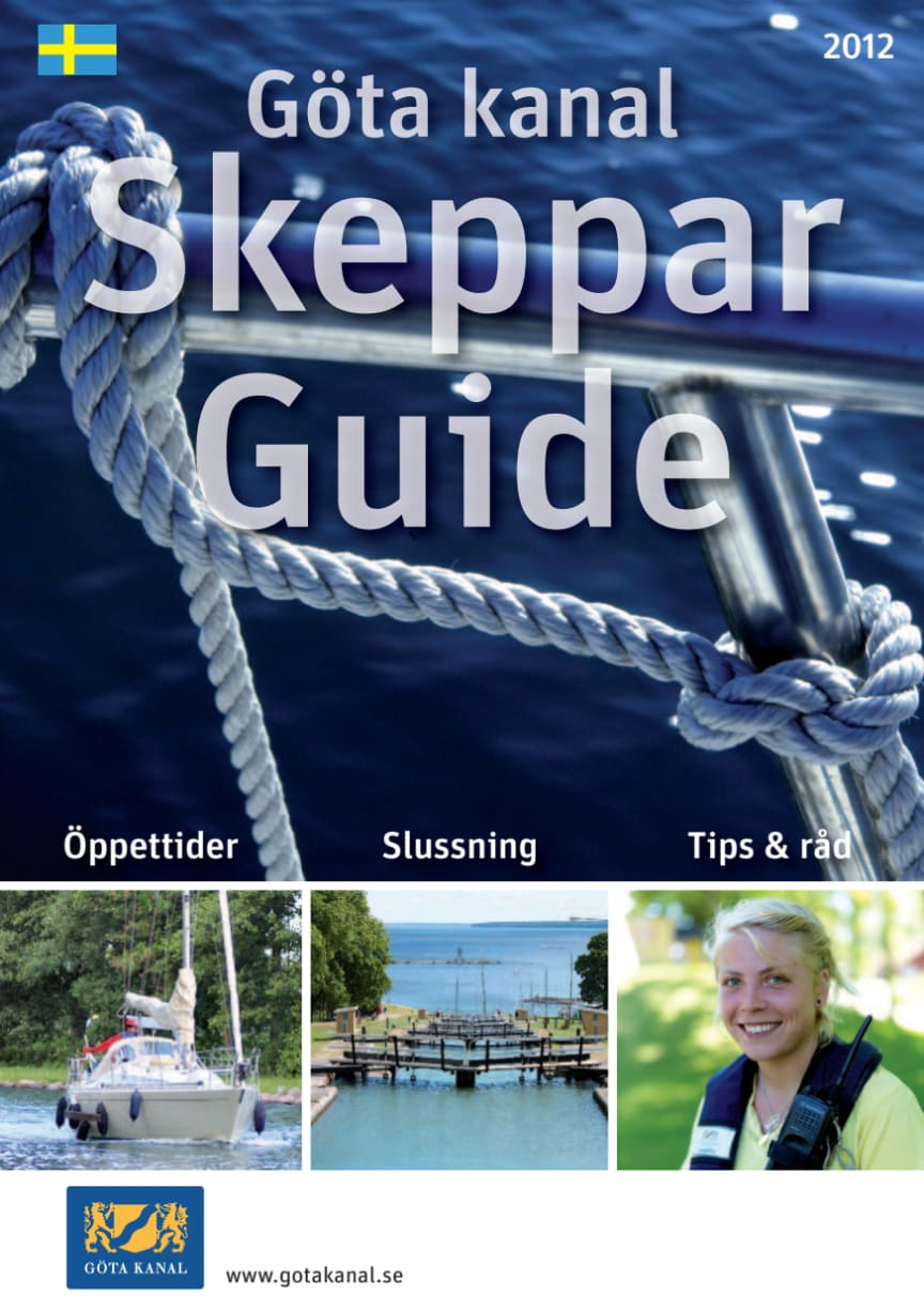 Göta kanal SkepparGuide