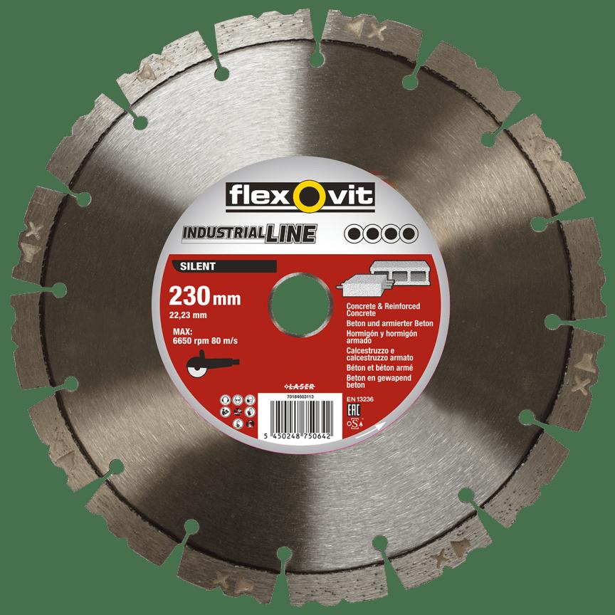 Flexovit Industrial Line Silent 230mm - Toute