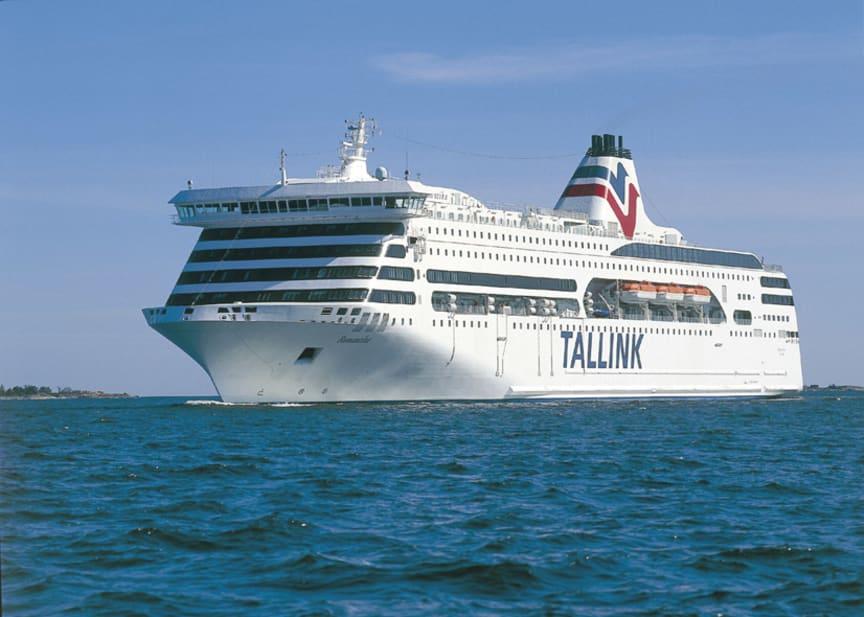 Tallink Silja | Die Romantika auf ihrer Route von Stockholm nach Riga