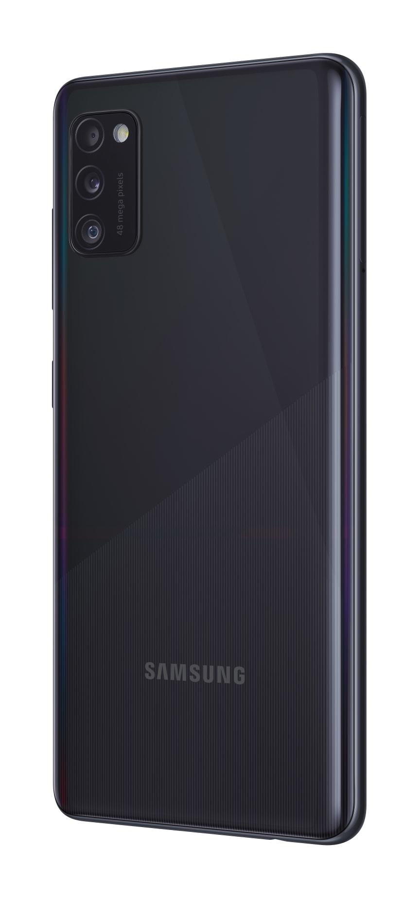 04_Samsung Galaxy A41_prism_crush_black_r30
