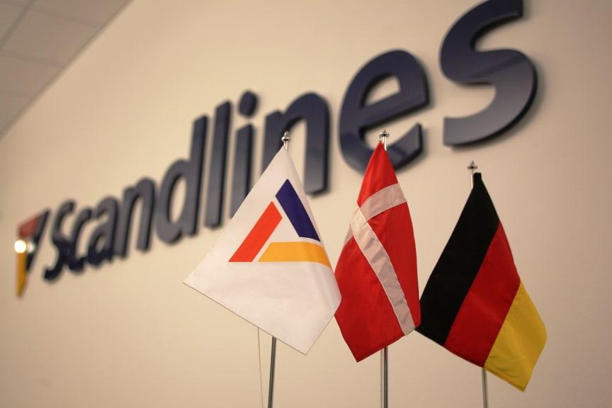 Scandlines-logo & flag