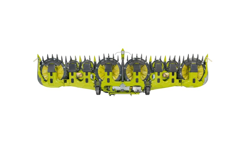 ORBIS row-independent front attachments for JAGUAR