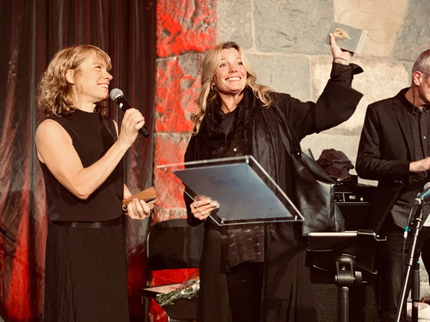 Gry Forsselll - Årets programledare Radio - och poddagen 2019
