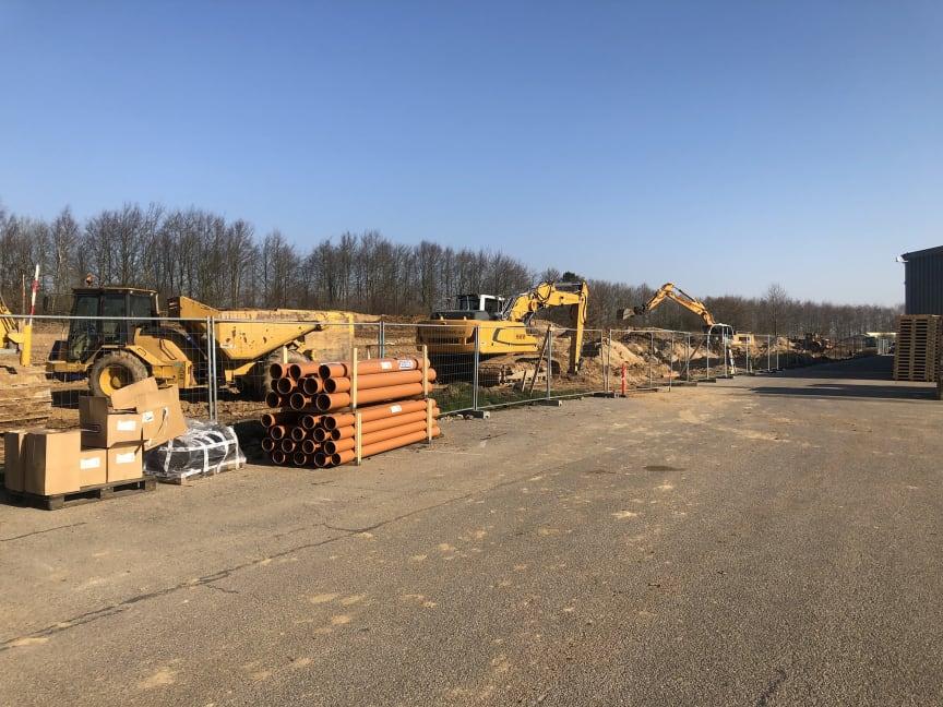 Udvidelse af produktions- og lagerfaciliteter i Haderslev