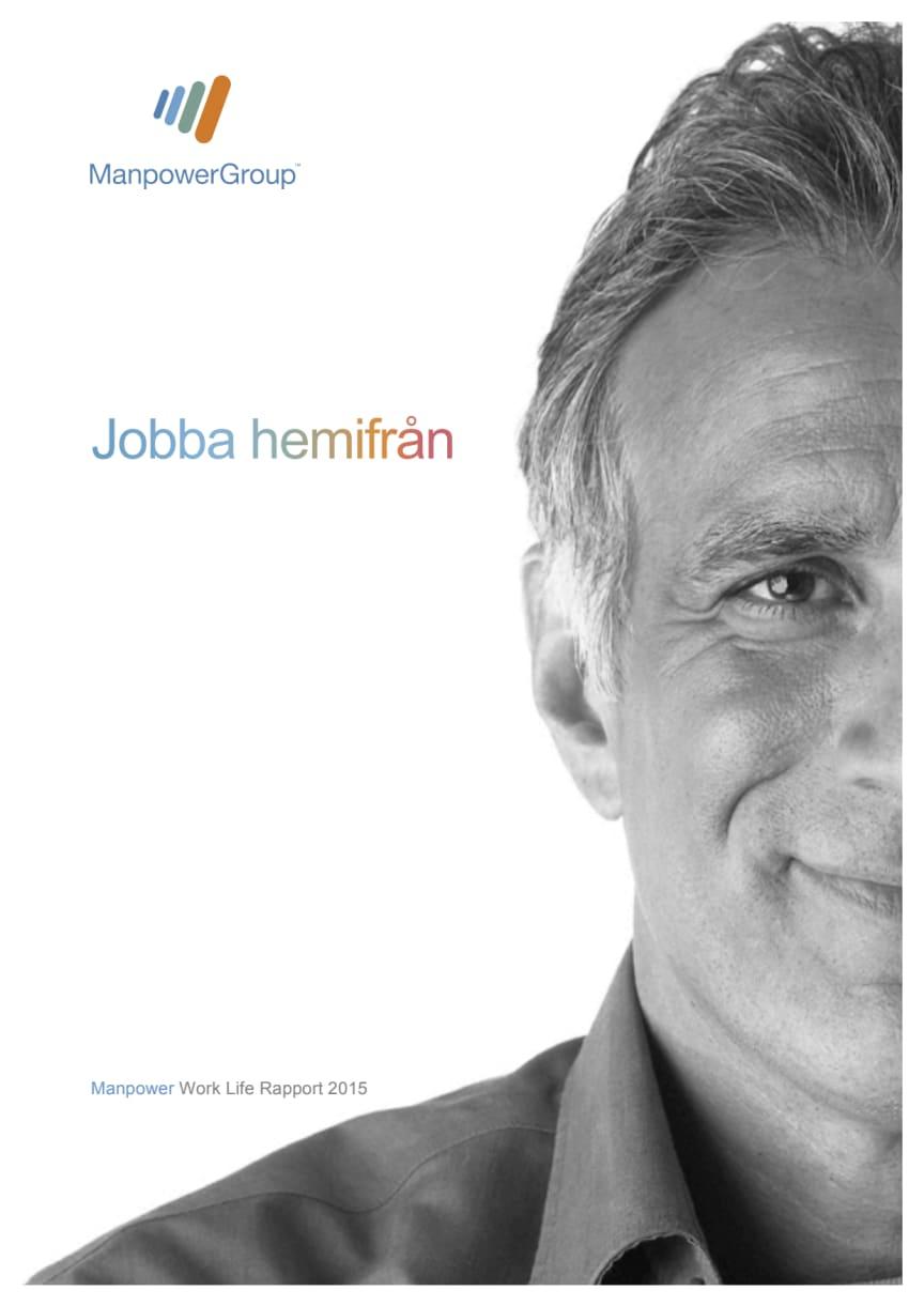 Worklife rapport: Jobba hemifrån