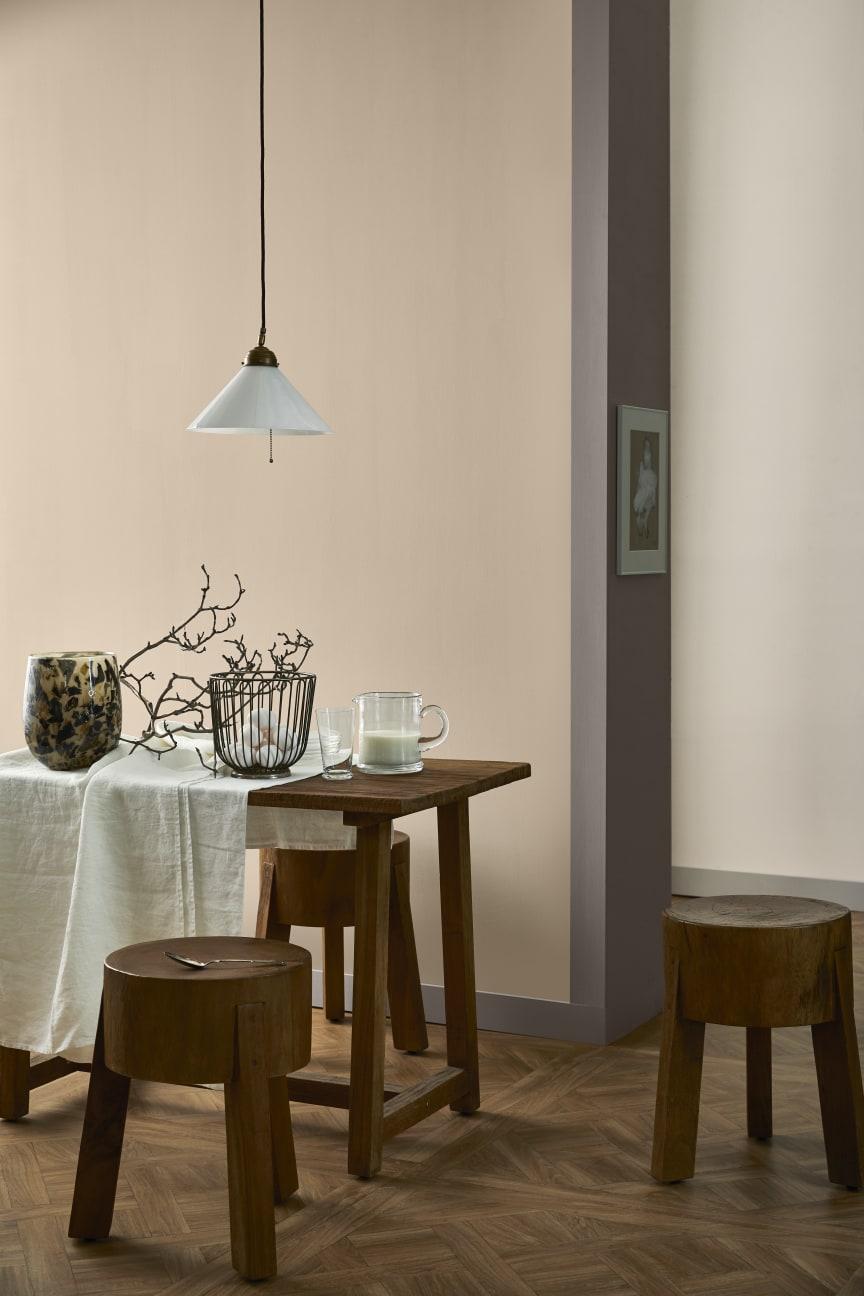 Naturnära kulörer med Smooth och Easy från Caparol by Sköna hem