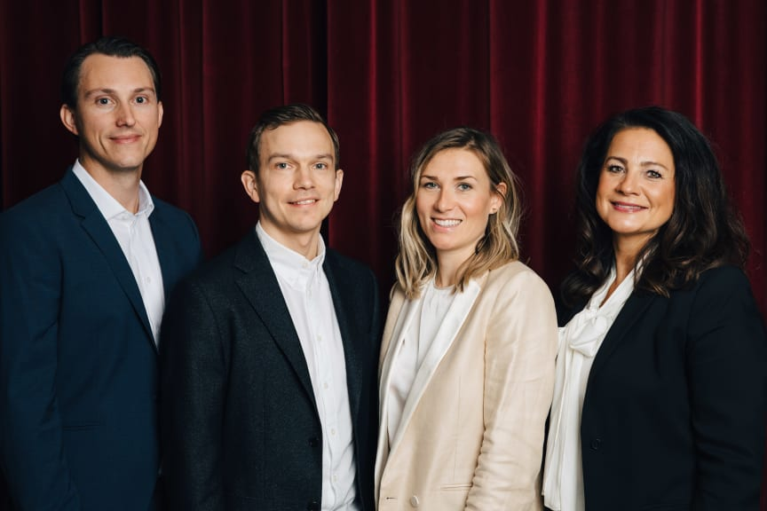 Carl Fenson Elias Holmer, Skapamer, Emelie Perckwall, Bodil Ericsson Torp, Aller Media