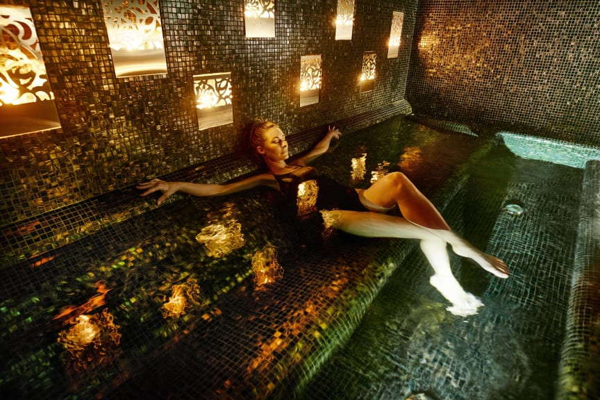 The Lodge Aloha Spa Ritual bath