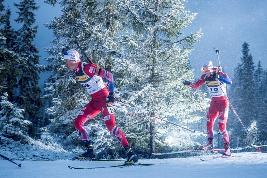 Henrik L'Abée-Lund og Erlend Bjøntegaard, Sesongstart på Sjusjøen