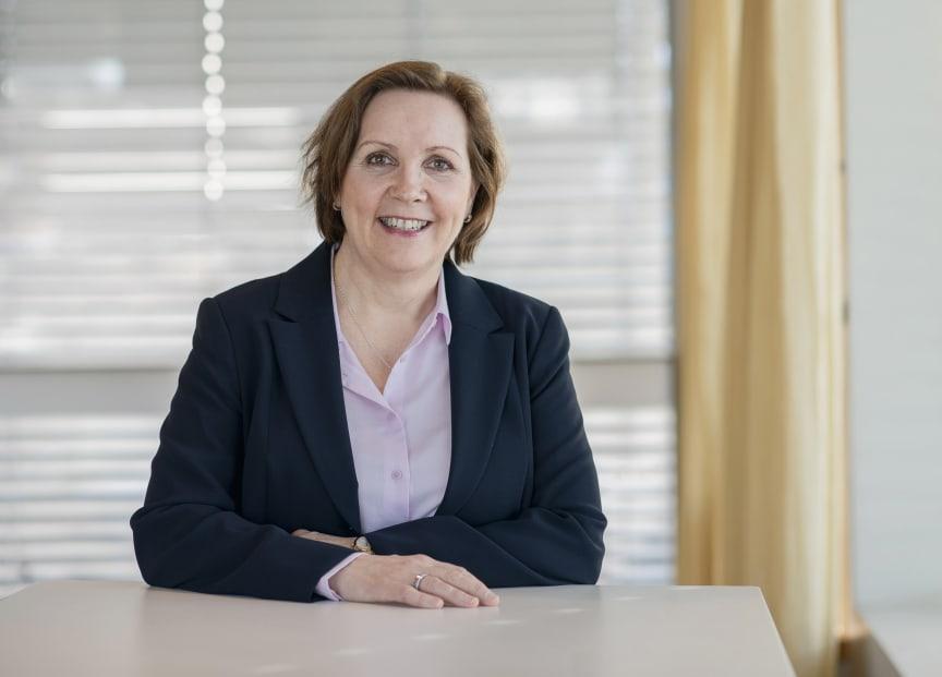 Konsernsjef Grethe Bergly
