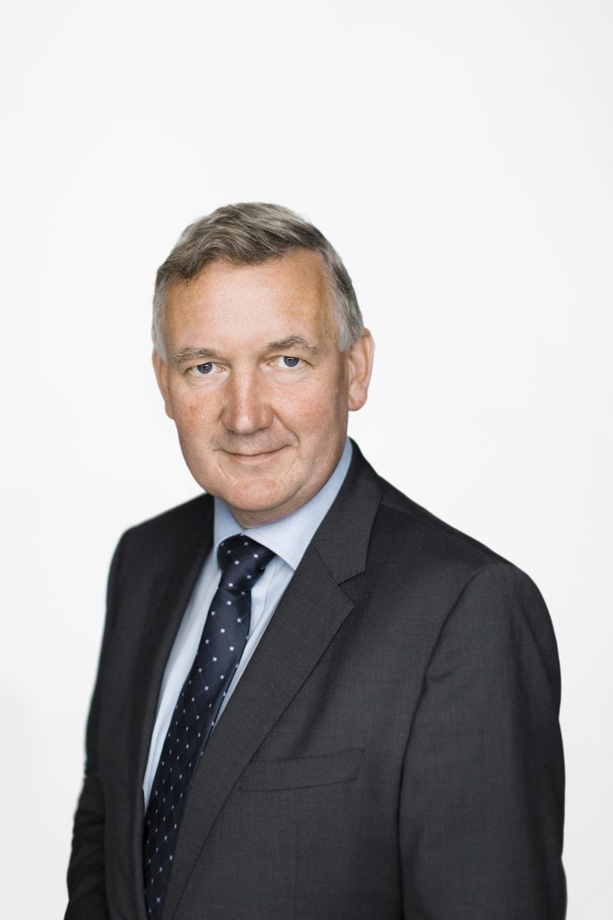 Nils Morten Bøhler, konserndirektør næringseiendom i OBOS.