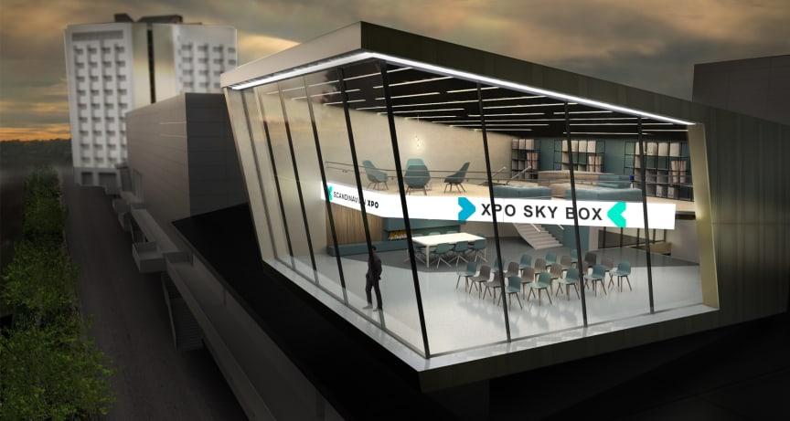 Scandinavian XPO Sky Box