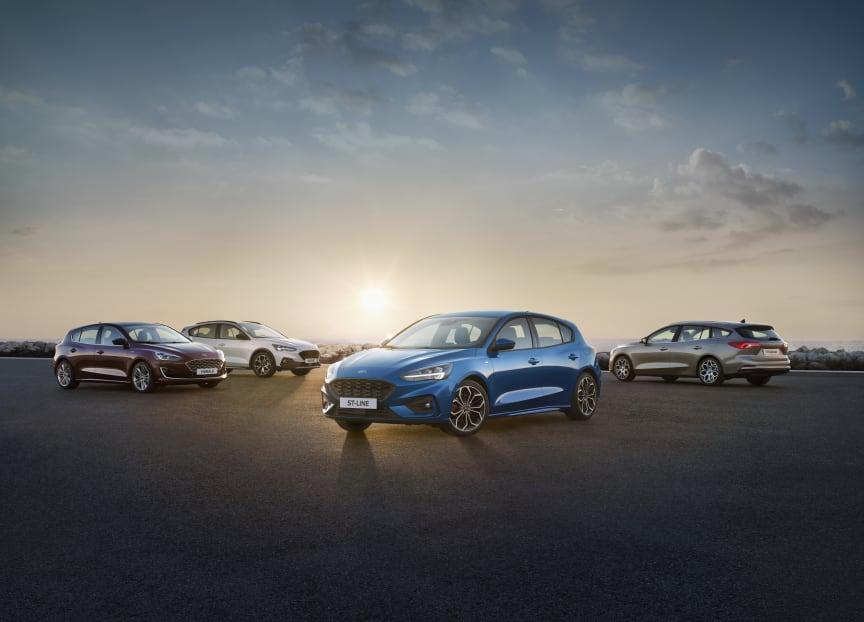 Nye Ford Focus 2018 Range