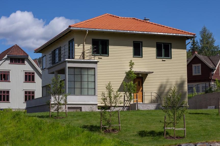 Dronning Sonjas barndomshjem i Boligfeltet på Maihaugen