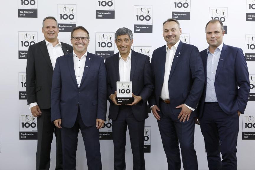 Top 100 Award für Algeco