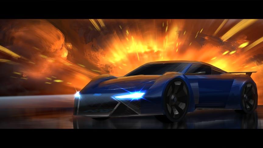 Audi RSQ e-tron (konceptbil til animationsfilmen Spies in Disguise)