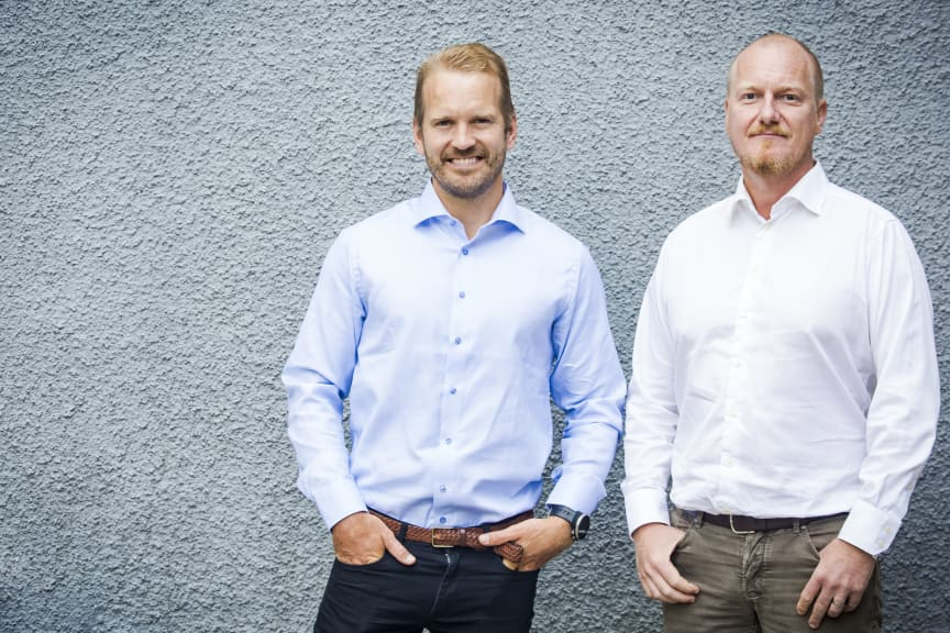 Henrik Svensson och Joakim Percival