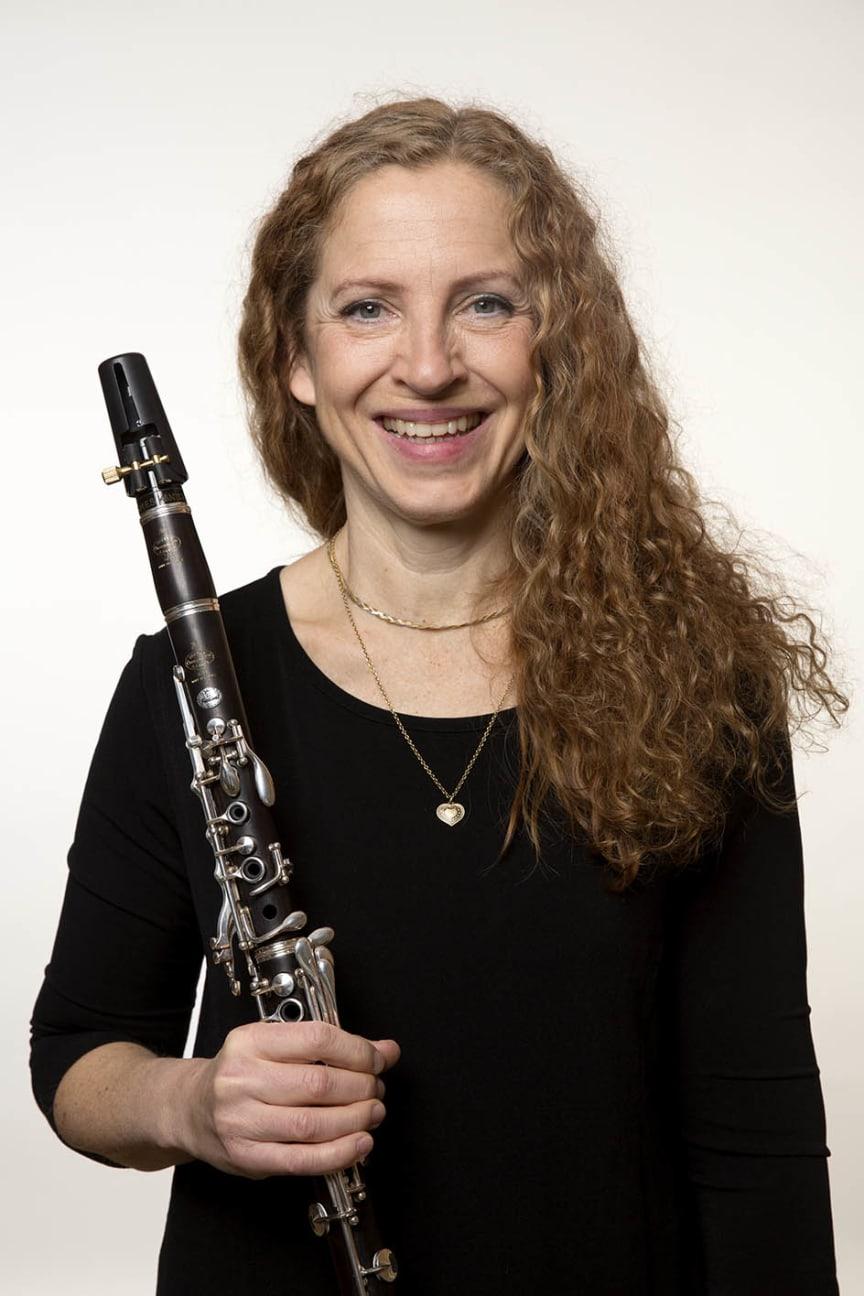 Lotta Pettersson van den Poel - klarinett