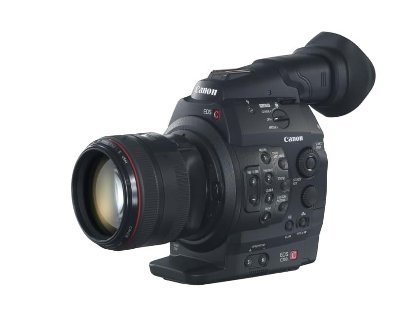 Canon EOS C300 release